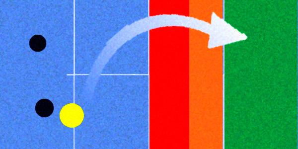 Zona donde tirar globo