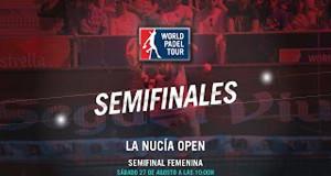 semifinales femeninas de La Nucía Open
