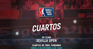 Sigue en directo los cuartos de final femeninos del Hp Xcam Sevilla Open