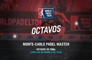 directo octavos Monte-Carlo Padel Master