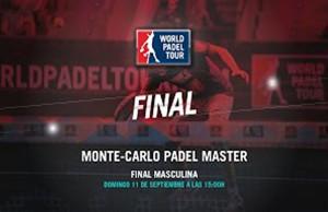 Directo de la final masculina del Monte-Carlo Padel Master