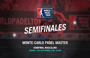 Directo de las semifinales masculinas del Monte-Carlo Padel Master