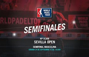 Directo de las semifinales masculinas del Hp Xcam Sevilla Open