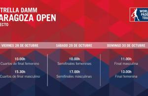 Horario del streaming del Estrella Damm Zaragoza Open