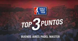 Los tres mejores puntos del Buenos Aires Padel Master