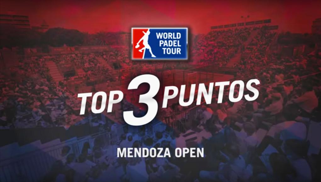 Los tres mejores puntos del Mendoza Open