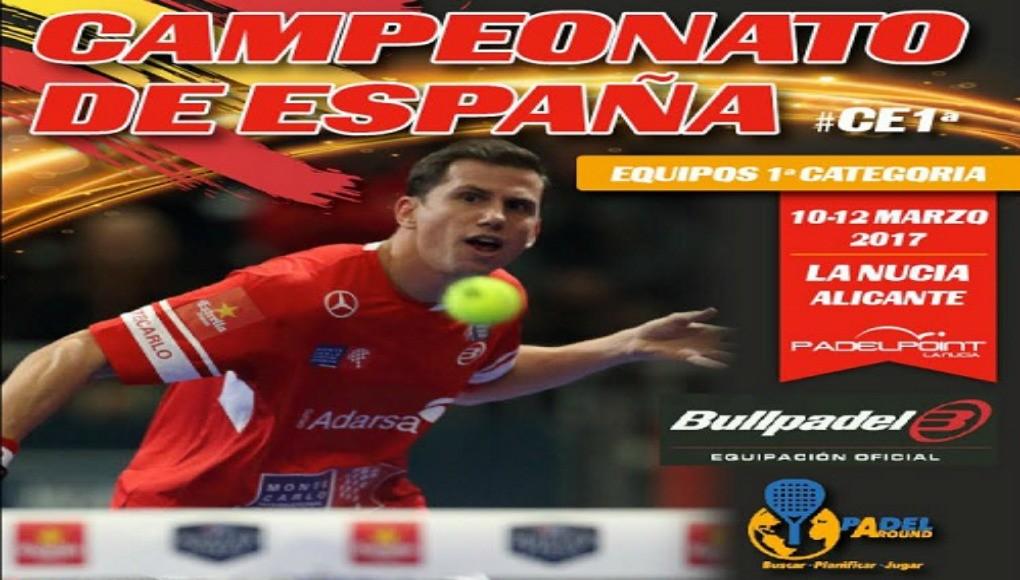 Arranca el XXXIII Campeonato de España por Equipos de 1ª Categoría Absoluta