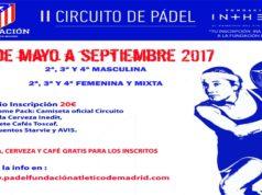 Circuito Pádel Fundación Atlético de Madrid