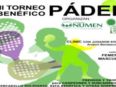 el Club Brezo-Osuna de Madrid albergará el próximo 20 de mayo la III edición del Torneo Benéfico de Pádel Fundación NUMEN.