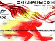 Sigue en directo las finales del XXXIII Campeonato de España Absoluto de pádel