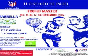 Trofeo Master del Circuito de Pádel Fundación Atlético de Madrid