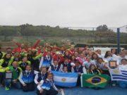 Argentina se proclamó campeona del Sudamericano de Pádel 2017