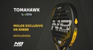 ENEBE Padel presenta su nueva pala: ENEBE TOMAHAWK TeXtreme