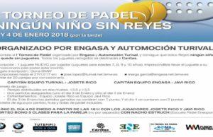 I Torneo de Padel Ningún niño sin Reyes