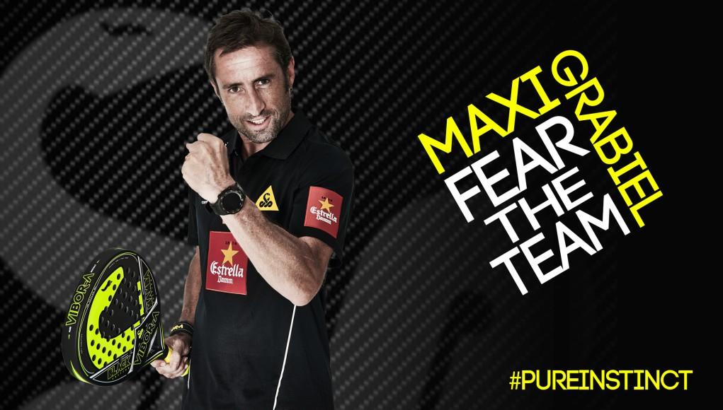 Maxi Grabiel seguirá siendo el jugador franquicia del Vibor-A Team durante dos temporadas más