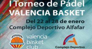 I Torneo de Pádel Valencia Basket