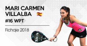 Mari Carmen VIllalba firma con Siux Padel