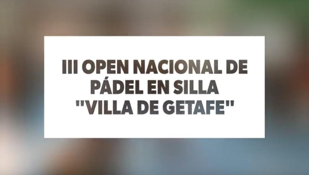 Vídeo resumen del III Open Nacional de Pádel en Silla