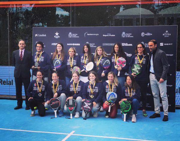 Real Club de Polo de Barcelona campeones de España por Equipos en categoría femenina