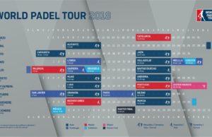 Imagen de World Padel Tour - Calendario del circuito World Padel Tour 2018