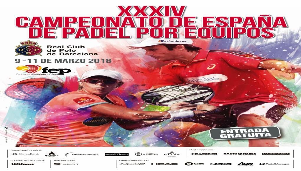 Cartel Campeonato de España por Equipos