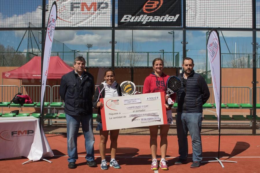 Campeonas 1ª femenina del Open Ford Deysa