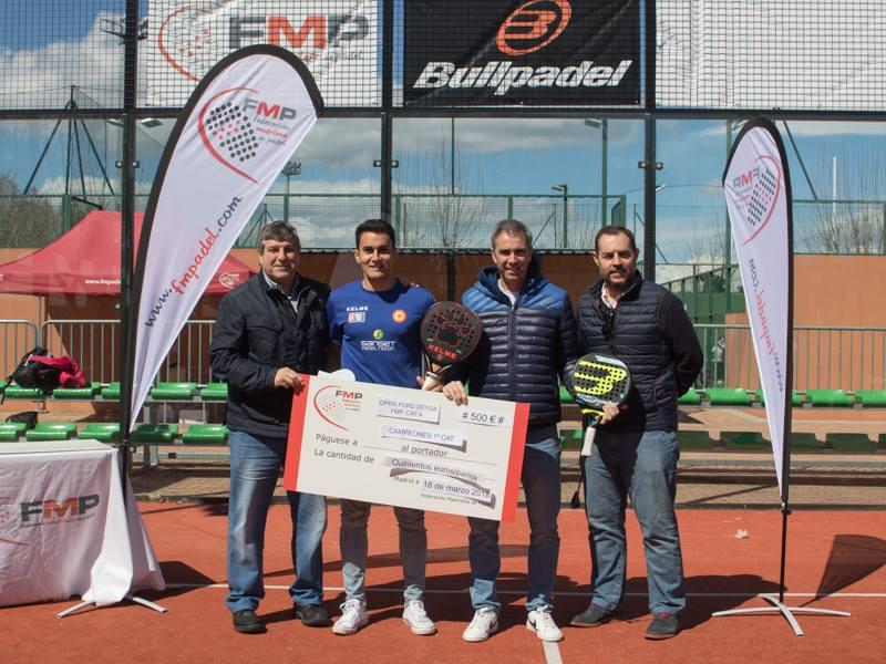 Campeones 1ª masculina del Open Ford Deysa