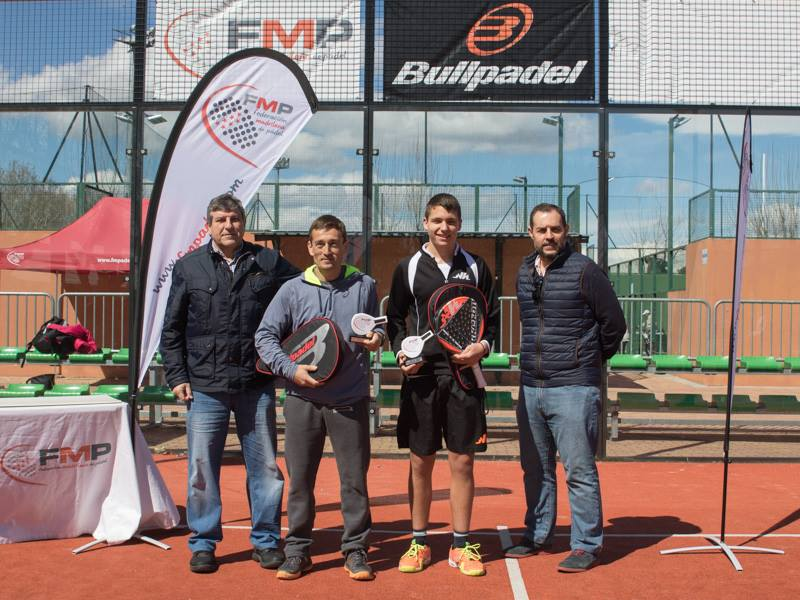 Campeones 2ª masculina del Open Ford Deysa
