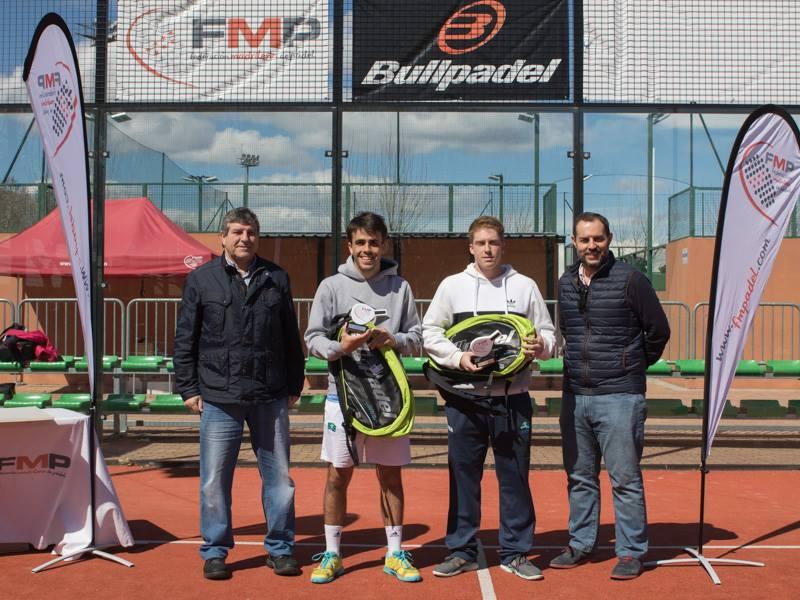 Campeones 3ª masculina del Open Ford Deysa