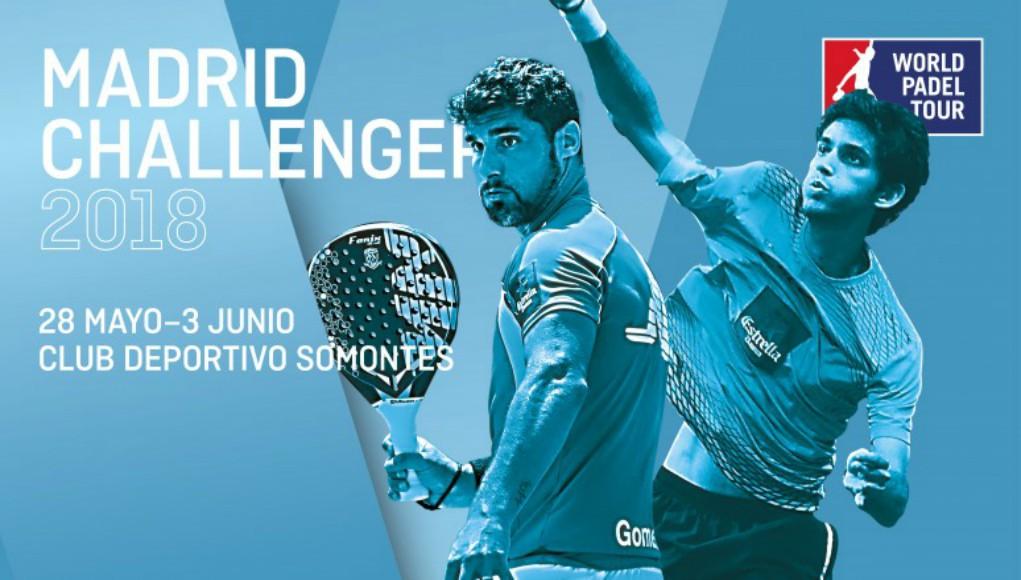 Madrid contará con una prueba Challenger del circuito World Padel Tour 2018