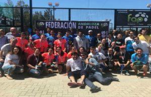 El Candado y Pádel Los Caballeros nuevos campeones de Andalucía por equipos absolutos de segunda categoría