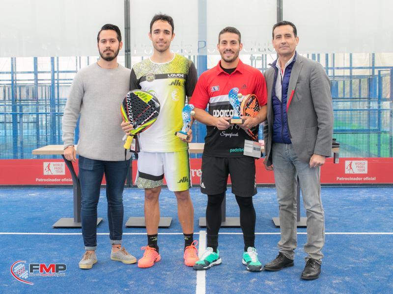 Campeones VI TORNEO POZUELO PÁDEL CLUB. CAT A