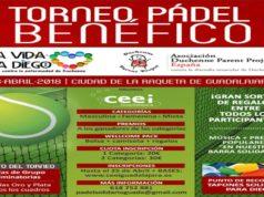 """Torneo de Pádel Benéfico """"Una vida para Diego"""""""