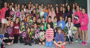 Finaliza la 2ª Jornada de los Juegos Deportivos de Navarra de Menores por Parejas de Pádel 2018