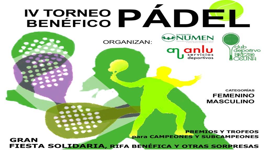 IV Torneo Benéfico de Pádel Fundación NUMEN