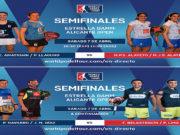 En directo las semifinales de tarde del Estrella Damm Alicante Open 2018