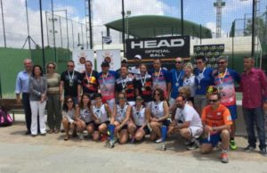 La Cubierta Vicar y Arruzafa se cuelgan el oro en el Campeonato de Andalucía por Equipos Veteranos de Tercera