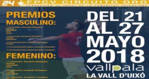 Streaming de las finales del Circuito Oro 24* Vallpala