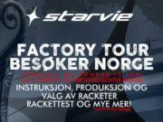 El Factory Tour StarVie viaja hasta Noruega