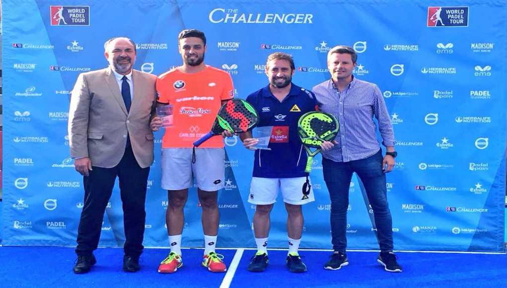 Maxi Grabiel y Pablo Lijó conquistan el Madrid Challenger