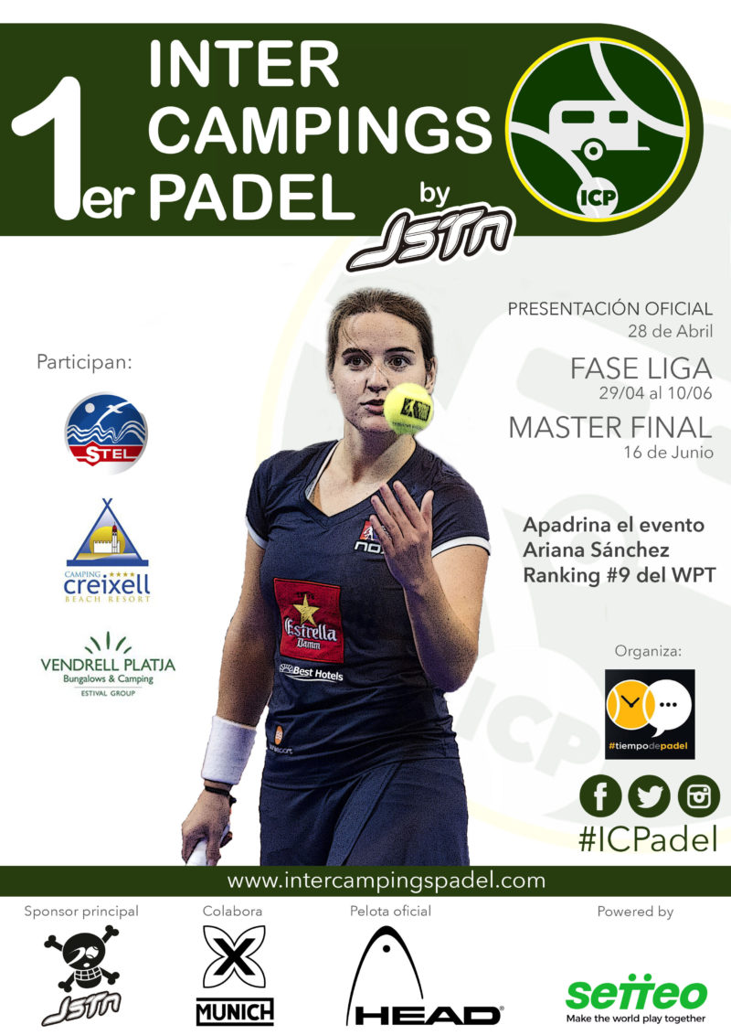 El Master Final dará por finalizada la 1ª Edición del Inter Campings Pádel By Justten