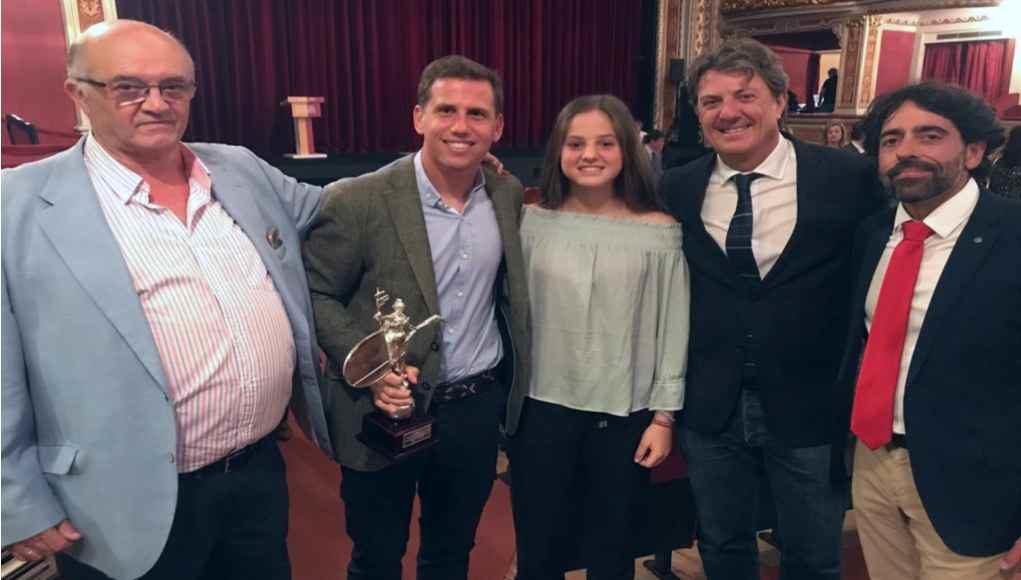 Paquito Navarro reconocido como mejor deportista sevillano en la Gala del Deporte