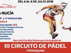 El Circuito de Pádel Fundación Atlético de Madrid llega a La Nucía