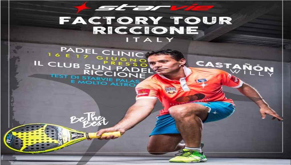 La localidad italiana de Riccione será la próxima parada del Factory Tour StarVie