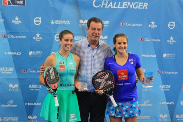 Ariana Sánchez y Marta Ortega campeonas del World Padel Tour Melilla Challenger 2018