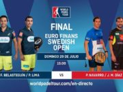 Imagen de World Padel Tour - En directo la final del Euro Finans Swedish Padel Open 2018