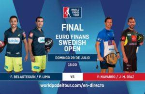 Imagen de World Padel Tour - En directo la final del Euro Finans Swedish Padel Open 2018