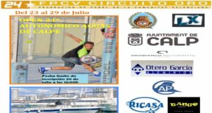 Streaming de la final del Circuito Oro 24* CT Calpe-Luxepadel