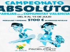 En directo las finales del Campeonato Autonómico Absoluto por Parejas de la Comunidad Valenciana
