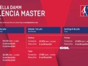Horarios del streaming del Estrella Damm Valencia Master 2018